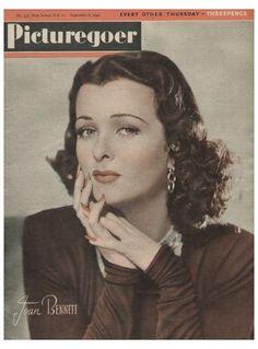 Joan Bennett - Picturegoer Magazine [United Kingdom] (6 September 1941)