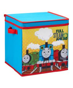 Take a look at this Medium Thomas The Tank Engine Storage Box by Thomas & Friends on #zulily today!