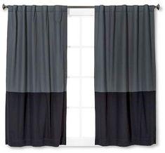 Pillowfort Twill Light Blocking Curtain Panel