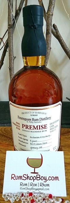 Good Rum, Beverages, Drinks, Bottle Design, Barrels, Distillery, Cigars, Whisky, Four Square
