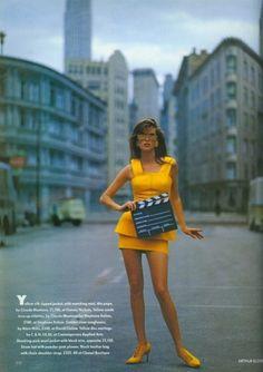 British Vogue March 1991.
