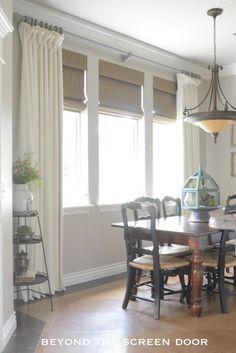 Ivory Linen Window T
