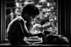 I Document The Special Bond Between My Son And His Pets | Bored Panda