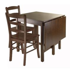 Winsome Lynden 3Piece Dining Table with 2Ladder Back Chairs * Click image for more details.Note:It is affiliate link to Amazon.