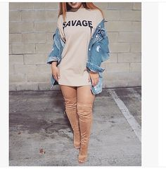 Love this outfit ✨ Dope Outfits, Casual Outfits, Fashion Outfits, Womens Fashion, Fashion Trends, Fall Winter Outfits, Autumn Winter Fashion, Summer Outfits, Urban Fashion