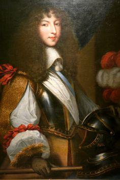 Louis XIV, Roi de France et de Navarre (1638-1715); by Jean Nocret.