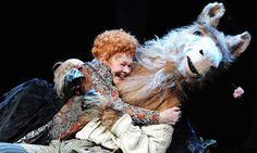 A Midsummer Night's Dream |, Judie Dench hugs her donkey.