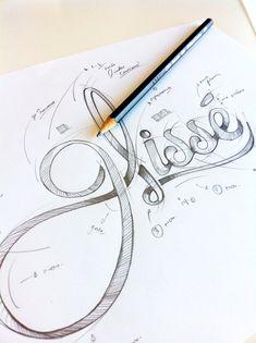 Glissé // Visual Identity by Industria, via Behance