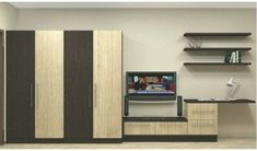 A #cloth #cabinet #is #in #status #cabinett #, that #BedroomTvUnitDesign #BedroomTvUnitDesignwithcupboard #cabinet #cabinett #cloth #homedecor #livingroom #status #Tvunit Bedroom Tv Unit Design, Tv In Bedroom, Media Wall, Improve Yourself, Living Room, Home Decor, Bedroom Tv, Sitting Rooms, Drawing Room