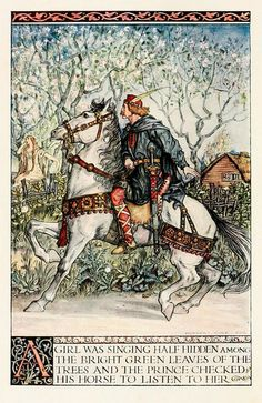 A Child's Book of Warriors 1907 - Frontispiece by CharmaineZoe, via Flickr