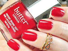 butter London Patent Shine 10X | Her Majesty's Red - Notes from My Dressing Table