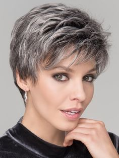 Monofilament Platinum Blonde Synthetic Pixie Style Wigs