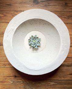 DIY: concrete bowl
