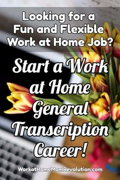 Looking for a fun and flexible work at home career? Start Your Own Work from Home General Transcription Business! It's a home business that costs little to start up! If you're looking for a home-based job that pays well and has flexible hours, this may be Work From Home Moms, Make Money From Home, How To Make Money, Home Based Business, Business Tips, Online Business, Business Opportunities, Resume Advice, Home Based Jobs