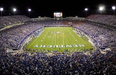 Lexington, Kentucky     Kentucky Football Game