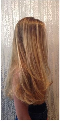 natural golden blonde highlights
