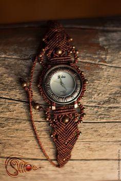 Macrame watch #macrame #watch