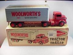 MARX WOOLWORTHS 1950s PRIVATE LABEL TOY TRUCK w BOX (11/18/2010)