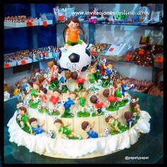 detalles primera comunión, detalles futbolistas niño, detalls comunió Barcelona
