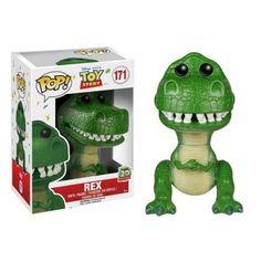 Funko Pop Disney Pixar: Toy Story Rex Vinyl Figure t-rex dinosaur - vaulted Disney Pop, Disney Pixar, Disney Stuff, Disney Movies, Figurine Pop Disney, Pop Figurine, Figurines Funko Pop, Funko Figures, Figurines D'action