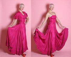 JAW-DROPPING Gorgeous 1930's 2 Piece by butchwaxvintage on Etsy