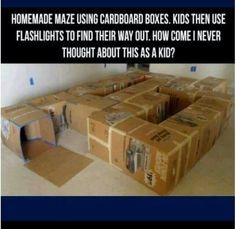 Cupboard maze