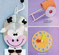 Reciclagem e Sucata: Brinquedos reciclados com CD's usados