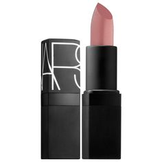What it is:A pure, creamy lipstick formula for bold color.What it does:Nars Lipsticks are enriched with vitamin E to increase wearability and keep true color locked into place. They impart semi-matte color so that lips are left looking velvety and fu