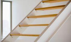 Escaleras seguras en el hogar