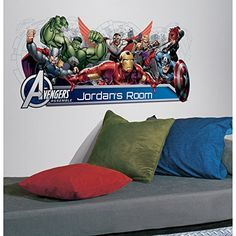 Avengers bedroom decor is ideal for super-fans of Marvel Comic's Avengers superheroes. The Avengers movies are some of the most highly anticipated movies ever.