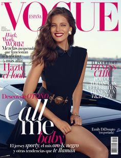 Emily Didonato en Vogue España. Octubre 2014