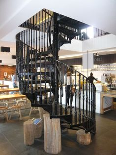 Cast Iron Spiral Staircases