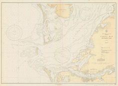 Tampa Bay - Southern Part - Historical Map - 1928