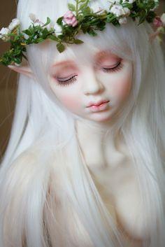 #elf #faery #fairy #doll #bjd