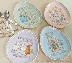 Peter Rabbit™ Easter Plate Sets #pbkids