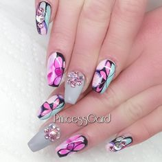 Each weekday, Nailpro selects one gorgeous nail design from followers. Click through to see each day's pick.