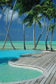 French Polynesia, Tahiti on the Bora-Bora Island, the Le Taha'a Island Resort & Spa _ Francia Polinézia, Tahiti, Bora-Bora szigeten a Le-taha'a Sziget Resort & Spa