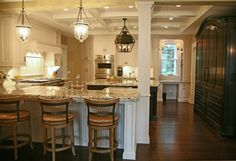 Kitchen Columns In Kitchen Design, Pictures, Remodel, Decor and Ideas