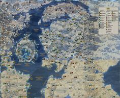 Hey guys just thought I'd share a map I made for Mortal Empires includes all the maps resources and features!