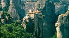 25 Places You Have To See Before You Die METEORA GREECE