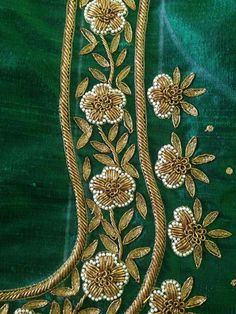 Indian embroidery