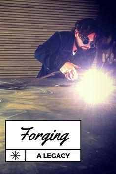 Custom Iron by Josh: Forging a Legacy Louisiana Art, Lake Charles, Studying, The Past, Internet, Teaching, Craft, City, Crafts