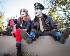 #suicidesquad #joker #dc #harleyquinn #batman #cosplay #jokercosplay #dccosplay #nerd #geek #bombshellharley #comic #comicbook #antihero #villian #makeup #harley #badguys #trouble #lazoo #dcuniverse #supervilliain #jokerface Featuring @actressjdeangelo  Photography by @t_bone_50
