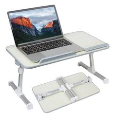 Laptop Table For Bed, Computer Stand For Desk, Laptop Tray, Laptop Stand, Bed Stand, Tablet Stand, Bed Tray Table, Lap Table, Lap Desk