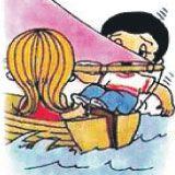 kada joj dozvoliš da upravlja tvojim brodom