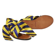 Sandalen Rubanknot Gelb Roseanna Schuh Erwachsene Anna, Slip On, Shoes, Fashion, Sandals, Shoe, Yellow, Shoemaking, Moda
