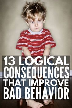 Enforcing logical consequences is a fabulous way for teachers to encourage good classroom behavior and parents to get kids to behave without yelling, and we're sharing 13 logical consequences that actually work! Classroom Behavior, Kids Behavior, Classroom Consequences, Behavior Board, Child Behavior Problems, Behavior Charts, Chore Charts, Kids And Parenting, Parenting Hacks