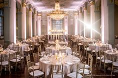 Atlanta Wedding Reception at The Biltmore Ballrooms