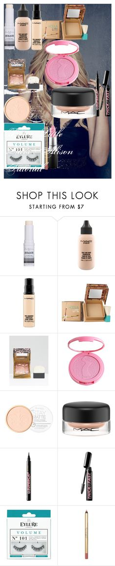 """Pretty Little Liars : Alison Tutorial"" by oroartye-1 on Polyvore featuring beauty, Forever 21, MAC Cosmetics, Benefit, tarte, Rimmel, Soap & Glory and eylure"