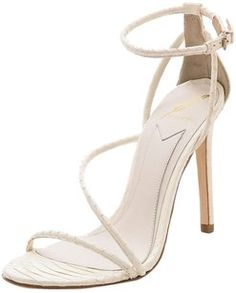 faba1fbc558 Brian Atwood white Pumps Celebrity Shoes